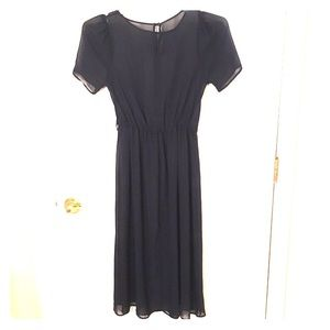 Vintage black dress